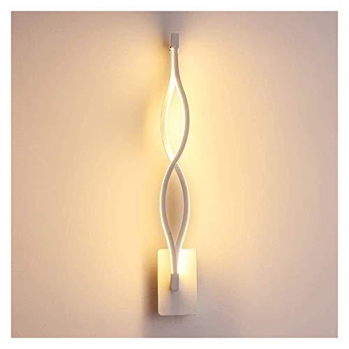 PQQ Lámpara de Pared Apliques de Pared de Interior LED Modernos 16w Lámpara de Pared acrílica de Onda para luz de Espejo de baño de Pasillo