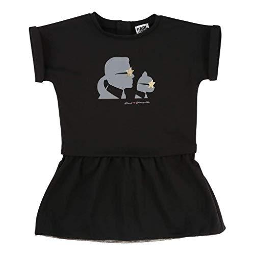 Karl Lagerfeld Kids Kleid schwarz Gr.8A