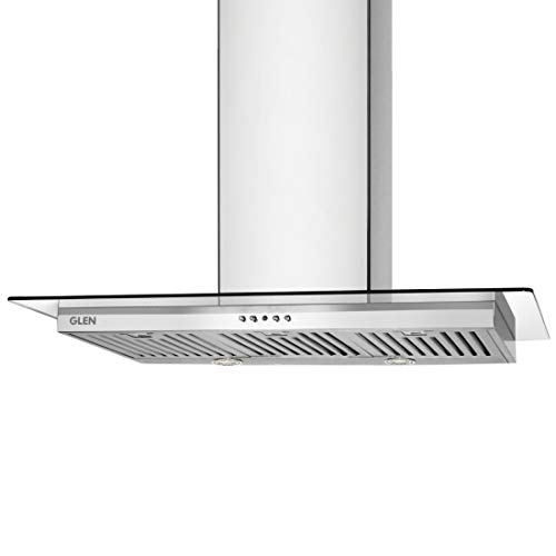 Glen 6062 Kitchen Chimney Stainless Steel - 90 cm, Airflow 1250 m3/hr