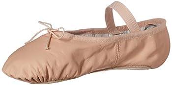 Bloch Women s Dansoft Full Sole Leather Ballet Slipper/Shoe Pink 5.5 Narrow