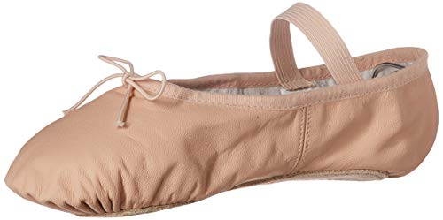 Bloch Women's Dansoft Full Sole Leather Ballet Slipper/Shoe, Pink, 6.5 Narrow