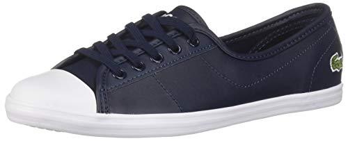 Lacoste Women's Ziane Sneaker navy 9.5 Medium US