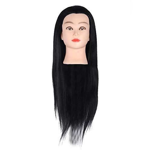 Têtes d'exercice Tête À Coiffer Coiffure Cosmétologie Pratique Mannequin Tête à Coiffer La Formation Cosmétologie Mannequin Head Hairdressing Outils Accessoires