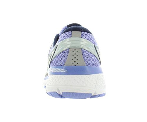 Saucony Women's Triumph Iso 3 Running Shoes, Multicolor (Grey/purple), 5 UK
