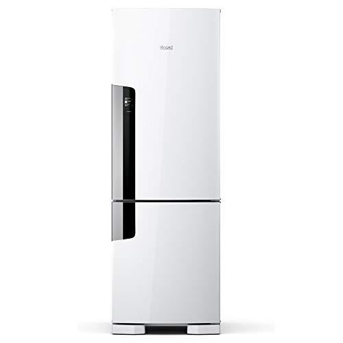 Geladeira Consul Frost Free Duplex 397 litros Branca com freezer embaixo - CRE44AB 220V