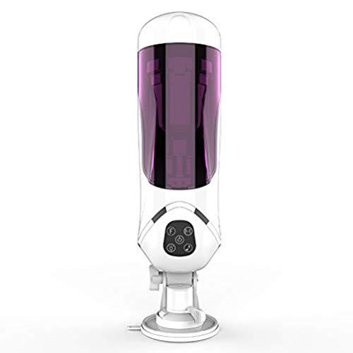 WZCCRYP Männer Deep Throat Stimulatoren elektrische Blow-Job mit rotierendem 180 degre Saugen Oral Cup Vibrieren, perfekte Größe & Party Giftstoy
