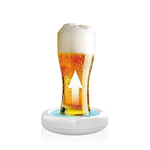 Tosuny Beer Foamer 3.7V Elektrischer Bier-Schaum-Hersteller Beer Bubbler mit eingebauter 1800-mAh-Lithiumbatterie, geeignet für Familienfeiern, Geschäftstreffen, Bars