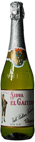 El Gaitero - Sidra de Etiqueta Blanca - Botella 70 cl