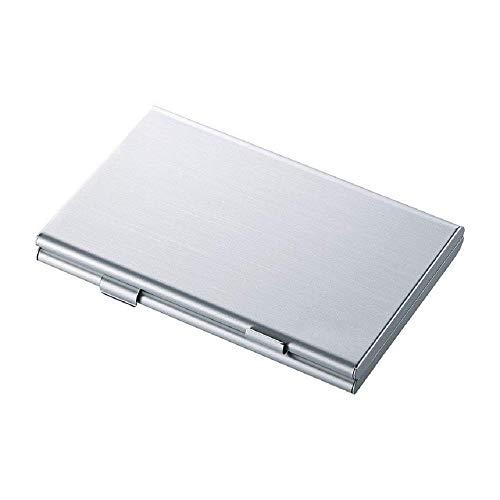 リタプロショップ? アルミメモリーカードケース SDカード用 両面収納タイプ 6枚収納 アルミケース