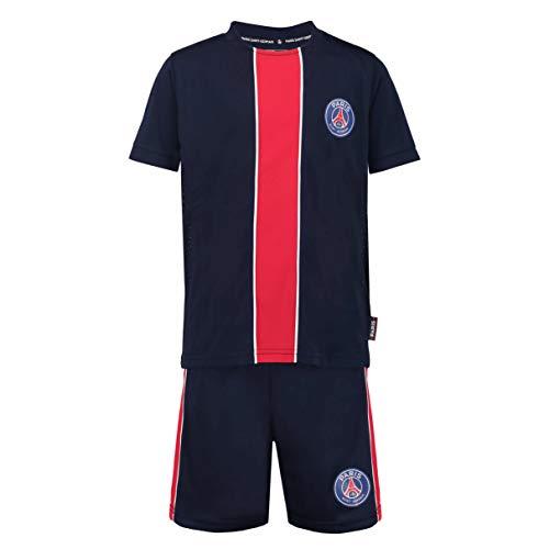 PARIS SAINT-GERMAIN Maillot + Short PSG - Collection Officielle Taille Enfant 14 Ans