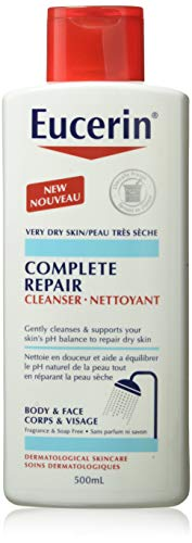 Eucerin COMPLETE REPAIR Cleanser Body & Face, 500ml