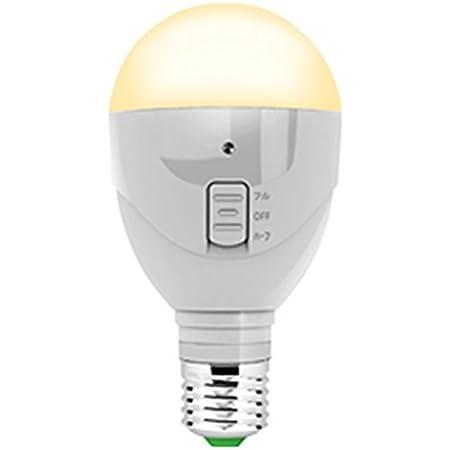 ラブロス LED電球 停電時自動点灯型LED 電球色 MBP5WーA