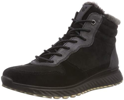 ECCO Damen ST 1 Hohe Sneaker, Schwarz (Black 51094), 39 EU