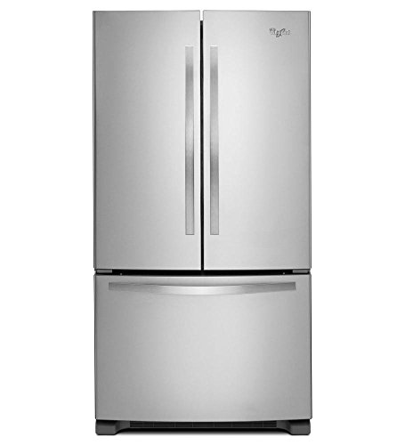 Whirlpool WRF532SMBM 21.7 Cu. Ft. Stainless Steel French Door Refrigerator - Energy Star