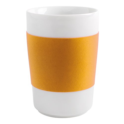 Kahla Touch! Five Senses Banderole Maxi-Becher 0,35 l Touch! Giallo aranciato Touch! orange-gelb