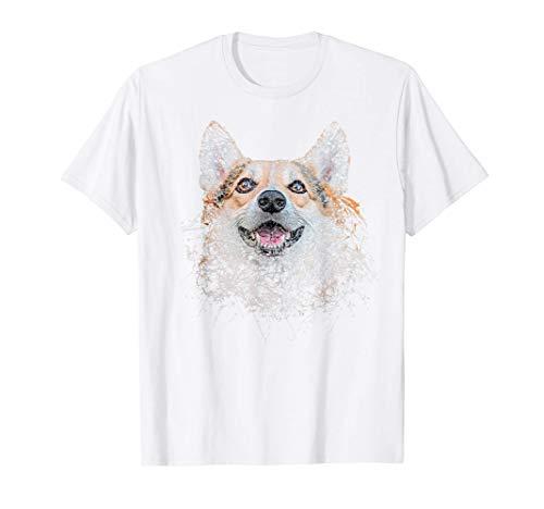 Regalo Mamá Papá Amante de los Perros Pembroke Welsh Corgi Camiseta