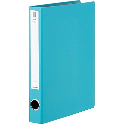 コクヨ ファイル チューブファイル NEOS A4 30mm 2穴 ターコイズブルー フ-NE630B
