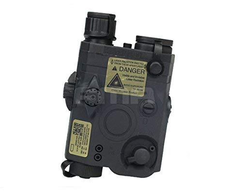 H World Shopping FMA PEQ-15 LA-5 Schnullerbox für Tactical Airsoft AEG Display BK