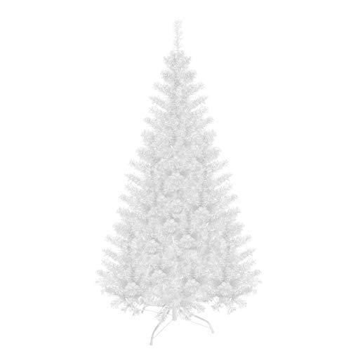 Baunsal GmbH & Co.KG Weihnachtsbaum Tannenbaum Christbaum künstlich 180 cm Weiss