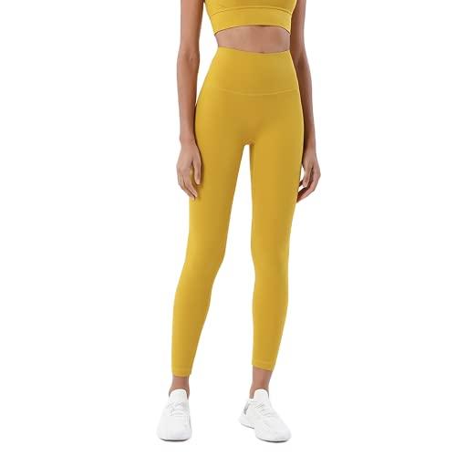 QTJY Pantalones de Yoga Delgados sexys para Mujer, Push-ups, Celulitis, Fitness, Cintura Alta, Levantamiento de Cadera, Pantalones Deportivos, Pantalones para Correr al Aire Libre G S