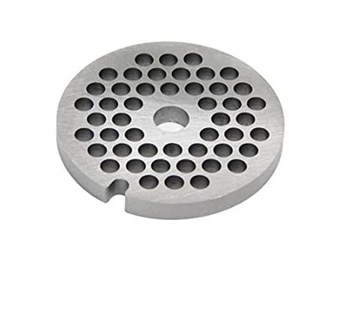 XINGSTOR 4,5 mm # 5 Pecho de la gría de la amoladora de la carne de la gría de la rejilla de acero inoxidable Piezas de la placa de la plancha para Bosch MFW15 MUM5 Zelmer 886.5 Philips Kenwood D = 53