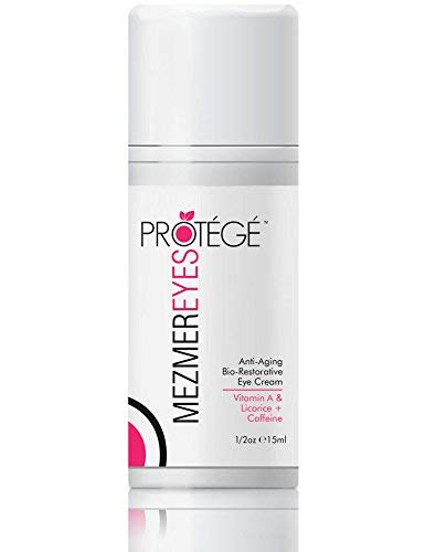Anti-Aging Eye Cream - MezmerEYES - Moisturizer and Wrinkle Repair with Retinol, Hyaluronic Acid and Collagen - Best Treatment for Men and Women with Under Eye Bags, Dark Circles or Puffy Eyes