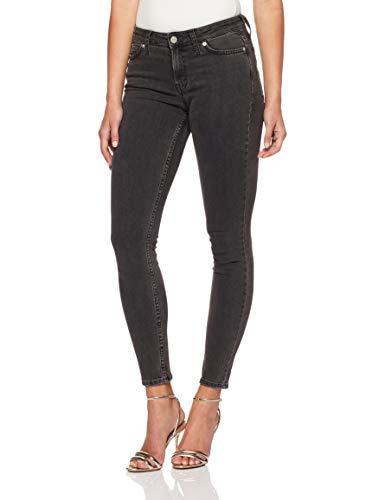 Calvin Klein Women's 001 Super Skinny Fit Jean, Seattle Grey, 29