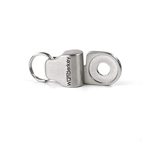 Wunderkey ® Magnet - Befestigungslösung für Autoschlüssel – 100% Made in Germany [Schlüssel Organizer Add-On   Schlüsselanhänger   Smart-Tool   Mini Gadget   Einkaufschip]