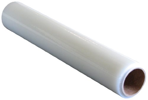 "Plasticover - PCC240200 Carpet Protection Film, Temporary Adhesive Plastic, Clear, 24"" Wide by 200' Long"