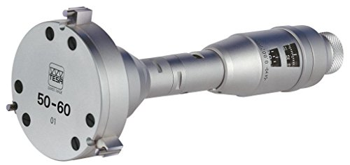 Tesa micrómetro de 00911107TRI-O-BOR, 110mm/120mm Rango de medición