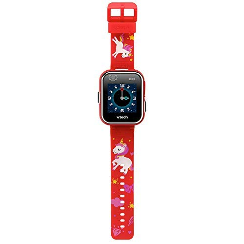 VTech Kidizoom Smartwatch DX2 - Red with Unicorn Design