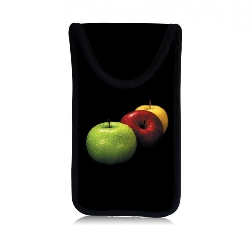 MySleeveDesign Smartphone Hülle Handy Tasche (u.a. passend für Samsung Galaxy S4 und S5 Mini, HTC one, Sony Xperia Z1 Compact und Z3 Compact UVM.) - VERSCH. Designs - Colored Apple