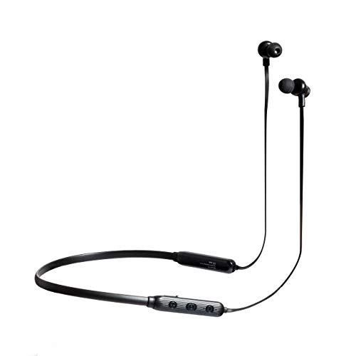 Riversong Stream N Sports Wireless Earphones - Noise Isolating in-Ear Headphones - Clear Sound with Built-in Microphone - Bluetooth Pairing with iOS/Android Devices etc. (Black)