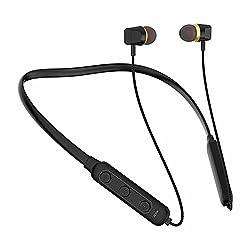 U&i Titanic Series Bluetooth Neckband Bluetooth Headset (Black, Wireless in The Ear),U&i,Titanic Series