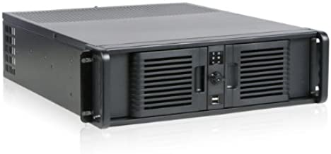 iStar D Storm D-300-PFS Front-mounted ATX Power Supply 3U Rackmount Server Chassis