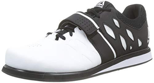 Reebok Lifter Pr, Zapatillas de Deporte para Hombre, Blanco (White/Black 000), 46 EU