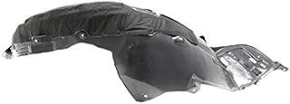 Partomotive For 16-17 Accord Coupe Front Splash Shield Inner Fender Liner Panel Driver Side