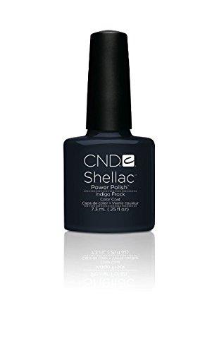 CND Shellac Power Polish – moderne – Collection folklore – Indigo robe – 0.25oz/7,3 ml
