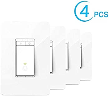 4-Pack TP-Link Kasa Smart Dimmer Switch