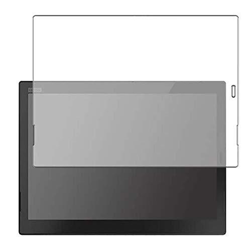 Vaxson 4 Unidades Protector de Pantalla, compatible con Lenovo ThinkPad X1 Tablet 2018 [No Vidrio Templado] TPU Película Protectora