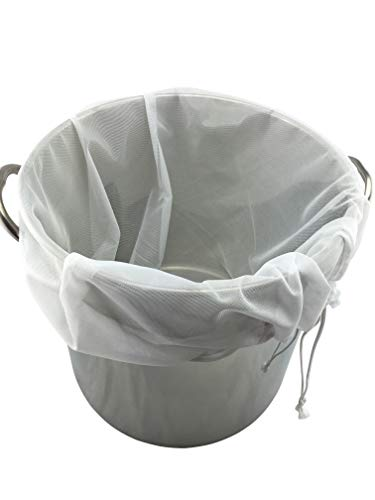 The Weekend Brewer Extra Large Reusable Drawstring Brew in a Bag – 26 x 22 in.