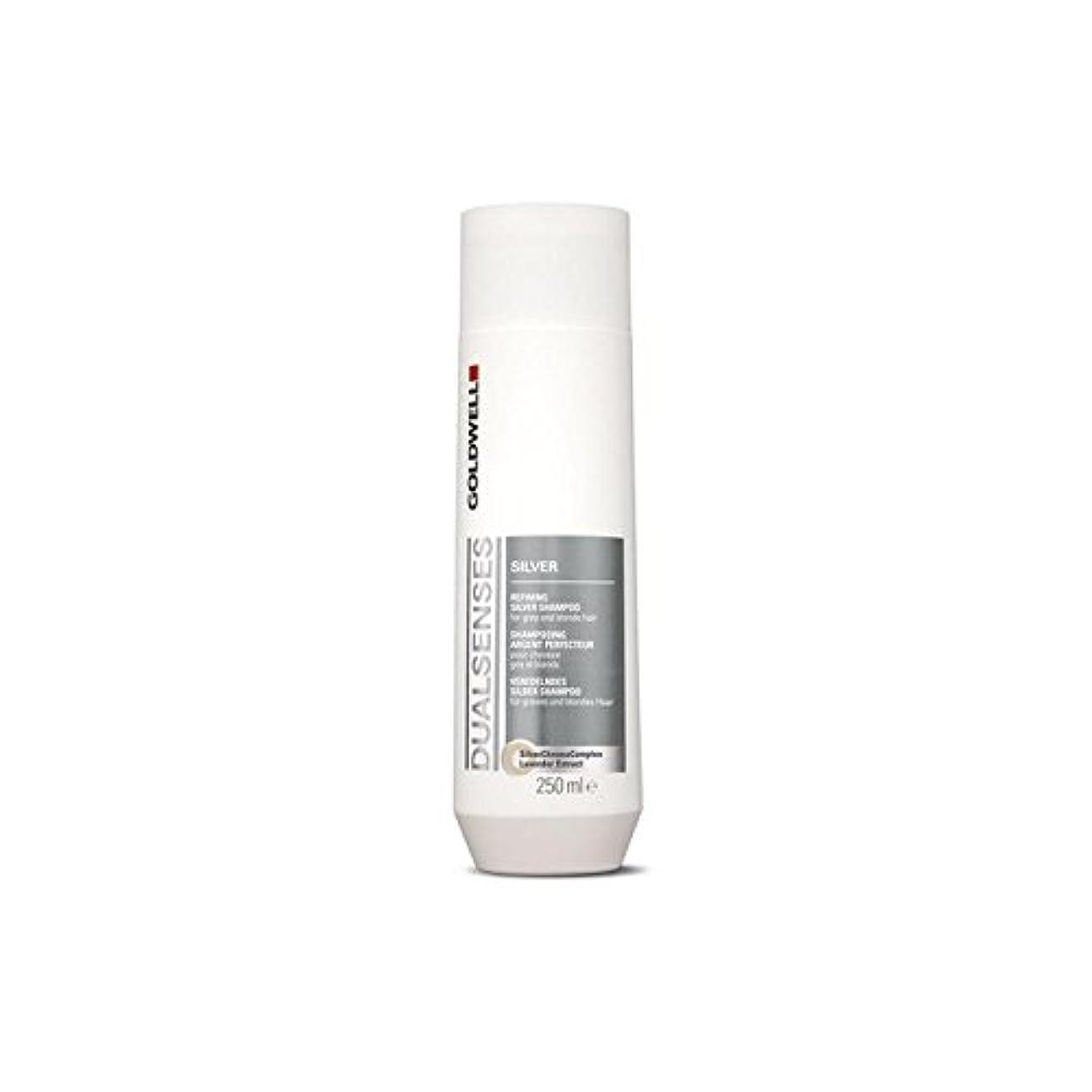 ヒップスマイル知的Goldwell Dualsenses Silver Shampoo (250ml) (Pack of 6) - は銀シャンプー(250ミリリットル)を x6 [並行輸入品]