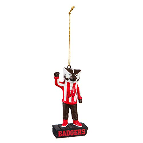 University of Wisconsin-Madison, Mascot Statue Ornament Officially Licensed Decorative Ornament for Sports Fans