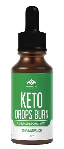 Keto Drops BURN (Tropfen) Ketogen EXTREM | Schnell & Leicht & Einfach LIPO | 10ml (1)