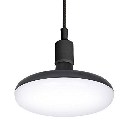 Garza Lampe LED E27 12 W, noir