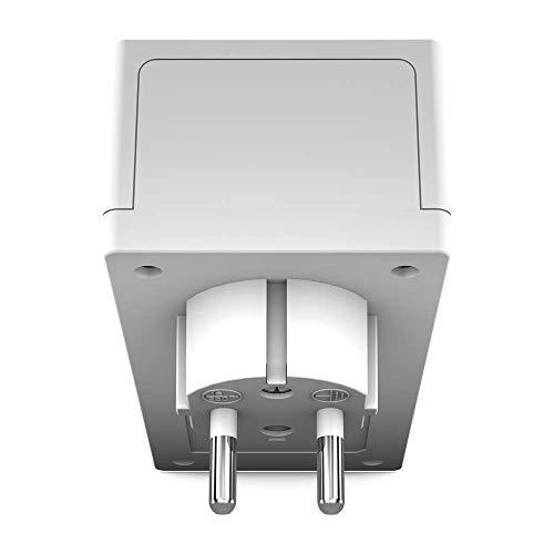 Strong CPL 1000 Mbps, Set mit 2 Adaptern CPL mit integrierter Steckdose - Gehäuse CPL kompatibel mit Allen Internetboxen (Faser- und ADSL), Weiß, POWERL1000DUOFR