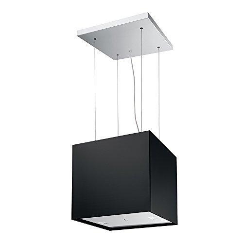 Franke FME 407 BK Dunstabzugshaube/Inselhaube/Edelstahl / 40,0 cm/Dunstabzugsinselhaube mit Fernbedienung/LED-Beleuchtung/schwarz