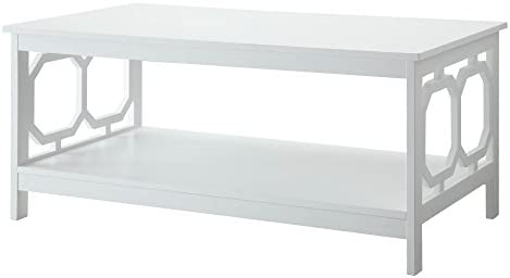 Best Convenience Concepts Omega Coffee Table, White