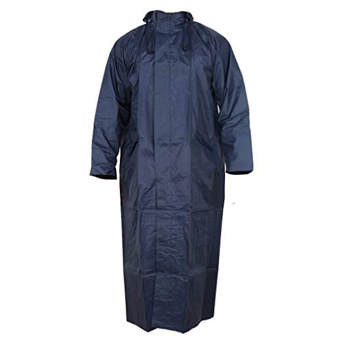 Zacharias Men's Raincoat (Blue, Free Size)