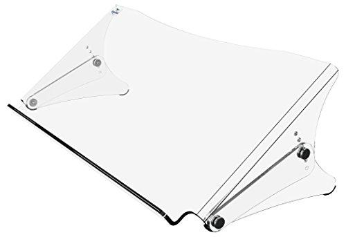 Dataflex Dokumentenhalter ErgoDoc HV 400 A3 quer Acryl klar